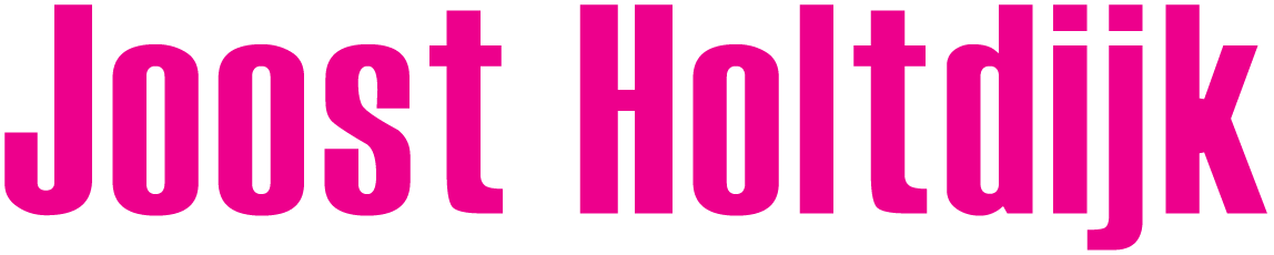 Website Joost Holtdijk Logo